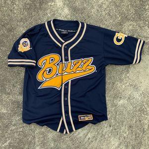 Vintage 90s Ga Tech Embroidered Baseball Jersey
